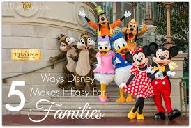 5 ways disney makes it easy for families