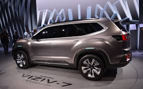subaru suv concept subaru viziv 7 suv concept the size of things to come the car guide