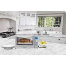 Cuisinart Deluxe Convection Toaster Oven Broiler Cuisinart Deluxe White Convection Toaster Oven Broiler Tob 135wn