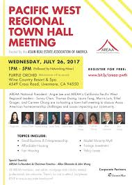 pacific west regional town hall meeting areaa