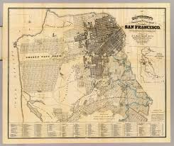 San Francisco County Map official guide map of city and county of san francisco bancroft