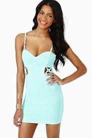 reaction dress mint in clothes dresses at nasty gal