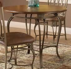 Kitchen Pedestal Kitchen Table Round Dining Pedestal Table Rustic 36 Round Kitchen Table Hillsdale Montello Round Dining