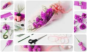 Make Beautiful by Diy Beautiful Flower Bouquets Step By Step K4 Craft