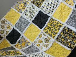 Black And Yellow Crib Bedding Gray And Yellow Quilts Co Nnect Me