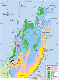 United Arab Emirates Map Geological Map Of The Musandam Peninsula Oman And Ras Al