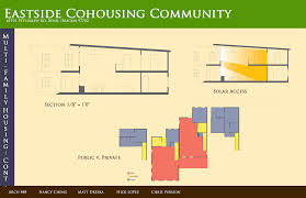 coho the street team multi family housing section and diagrams