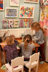 Kids Art Room by Creative Arts Area And Gallery For Kids The Imagination Tree