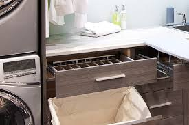 Drying Racks For Laundry Room - pull out laundry room cabinet with ironing board transitional