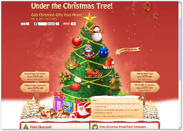 christmas tree gifts flash and video