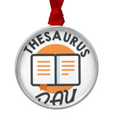thesaurus ornaments keepsake ornaments zazzle