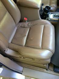 i swapped my passenger and driver seat cushions acura mdx forum