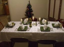 christmas decorations for dining table with ideas gallery 1571