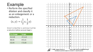 Glide Reflection Worksheet Dilations In The Coordinate Plane What Is A Dilation A Better
