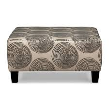 Ottoman Shelf by Furniture Rustic Wooden Oversized Square Cocktail Ottoman With
