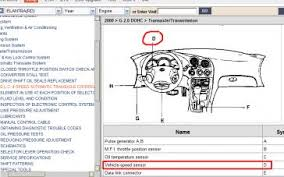 2002 hyundai elantra speed sensor transmission speed sensor location hyundai forum hyundai