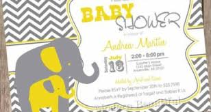 yellow and gray baby shower yellow and grey baby shower invitations photo baby shower