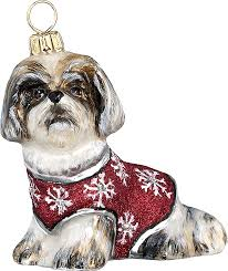 pet set shih tzu ornament a of dogs for the