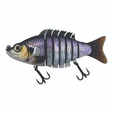 fishing lure swagger soft tail jointed fishing lure for
