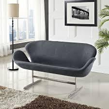 jacobsen style swan sofa multiple colors designer reproduction