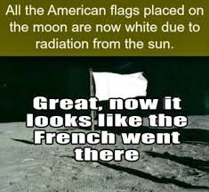 American Flag Meme - american flag on the moon meme guy