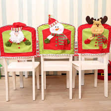 Christmas Chair Back Covers Christmas Dining Chair Back Covers Australia New Featured