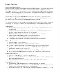 Inroads Resume Template Sample Engineer Job Description Systems Software Engineer Job