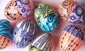 Decorating Easter Eggs With Markers by Modern Ideas Easter Eggs Decoration With Colored Pencils And Markers