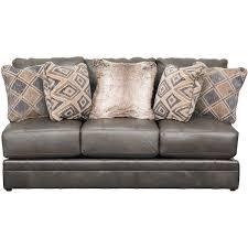 denali italian leather armless sofa 4378 30 1283 28 3082 28