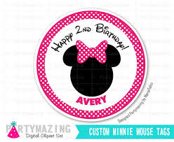printable minnie mouse tags stickers printable custom stickers
