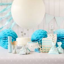 Blue Baby Shower Decorations Baby Shower Decorations Oh My Baby Shower