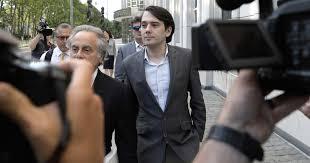 Seeking When Your Bro Gets A Pharma Bro Jailed For Post Seeking Clinton S Hair