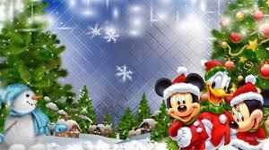 mouse christmas wallpaper