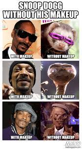 snoop dogg without his makeup