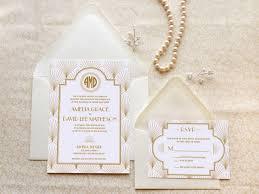 deco wedding invitations the charleston gatsby wedding invitations 1920s wedding