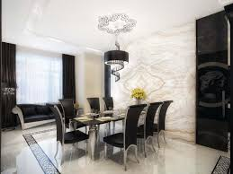 simple dining room decor ideas modern some artwork framed on the walls and small potted flowers are great to be considered as one of the best dining room decor ideas