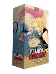 fullmetal alchemist box set book by hiromu arakawa official