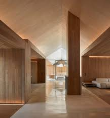 wooden interiors a collection curated by divisare