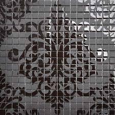Mosaic Tile Backsplash Ideas Black Glass Tile Murals Wall Stickers Plated Crystal Backsplash