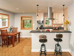 contemporary bar stools to bring harmony in open kitchen space astounding design of the brown wooden floor ideas with white kitchen and black marble tops and