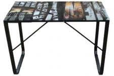 bureau metal et verre bureau metal design sur declikdeco n 1 de la deco design en ligne