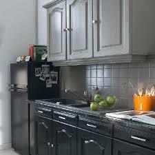 meuble de cuisine noir meuble de cuisine noir exemple de racnovation cuisine grise et
