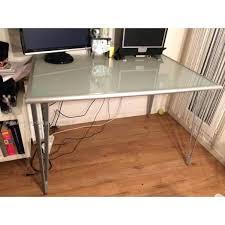 plateau bureau verre ikea plateau de bureau en verre ikea bureau plateau bureau en bureau en