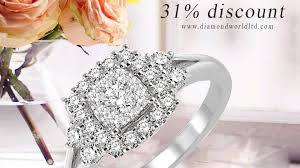 diamond world rings images Upto 31 discount on diamond rings at diamond world daily offer jpg