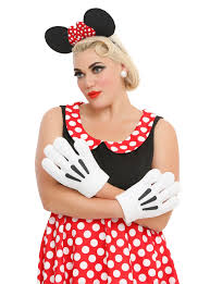 minnie mouse costume disney minnie mouse ears gloves costume kit hot topic