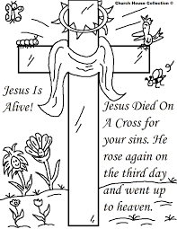 christian easter coloring pictures island easter pinterest
