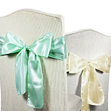 chair sash satin chair sashes