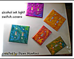 painted light switch covers light cover etsy