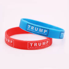 make men bracelet images Wholesale make america great again wristband show your support jpg