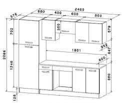dimension caisson cuisine hauteur standard plan de travail cuisine dcoration profondeur